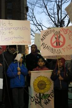 Newark families unite