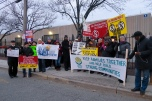Hudson County Correctional Facility Vigil for Haitian Detainees